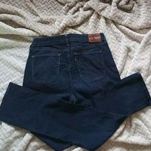 Levi's. Denim straight leg jeans